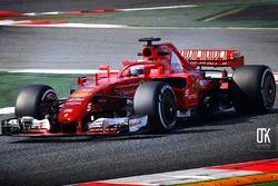 Ferrari 2007-2017 araç karması, halo ile, fantezi konsept tasarım