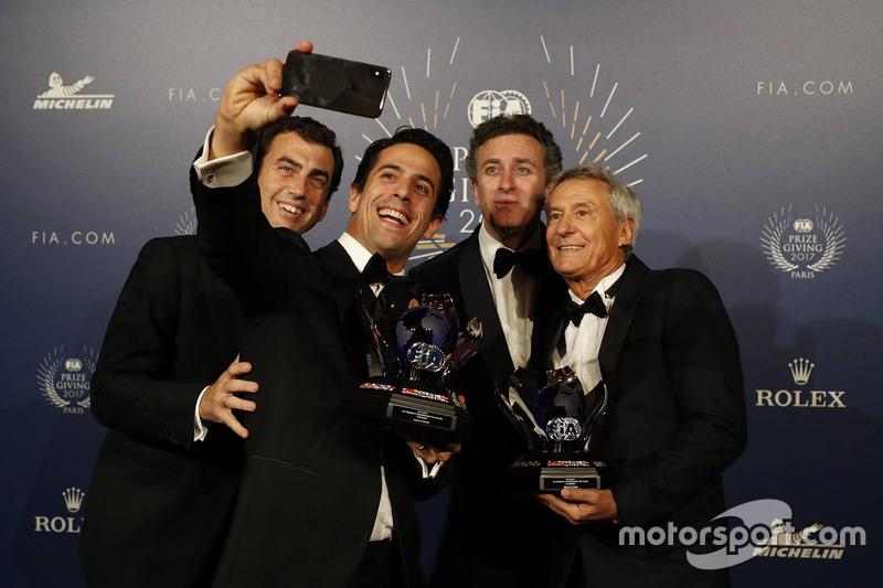Lucas di Grassi, Alejandro Aggag, Jean Paul Driot