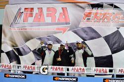 Johary Gonzalez, Fabian Santos, Ray Rivera of FS Tuning