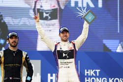 Podyum: Yarış galibi Sam Bird, DS Virgin Racing, 2. Jean-Eric Vergne, Techeetah