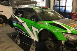 La Skoda Fabia R5 del Metiorsport.it