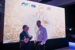 Jean Todt, président de la FIA, avec Bruno Michel