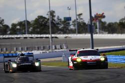 #2 Tequila Patrón ESM Nissan DPi: Scott Sharp, Ryan Dalziel, #912 Porsche Team North America Porsche 911 RSR: Patrick Pilet, Laurens Vanthoor
