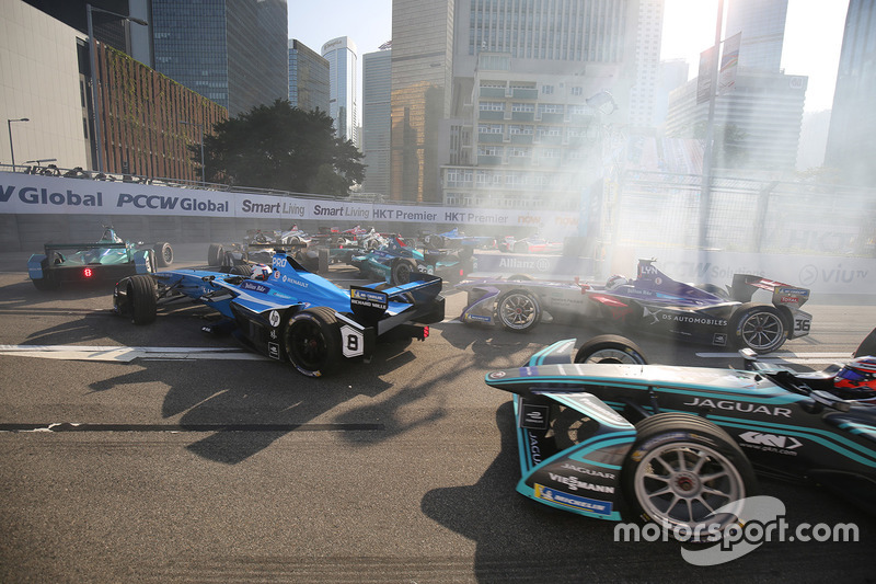 Start ePrix Hong Kong 2017