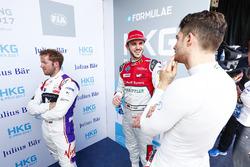 Sam Bird, DS Virgin Racing, Daniel Abt, Audi Sport ABT Schaeffler, Edoardo Mortara, Venturi Formula