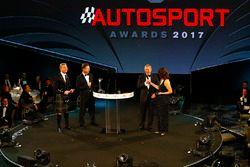 Lee McKenzie, Martin Brundle, David Coulthard ve Christian Horner