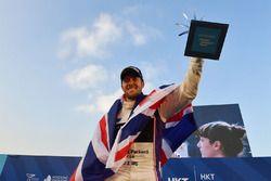 Podio: il vincitore della gara, Sam Bird, DS Virgin Racing