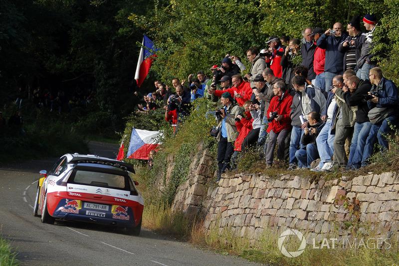2010, Rallye d'Alsace, Citroën C4 WRC