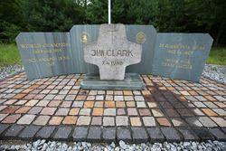 The Jim Clark memorial