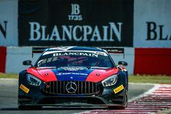 Mercedes-AMG GT3 №35 команды SMP Racing by Akka ASP : Владимир Атоев, Алексей Корнеев
