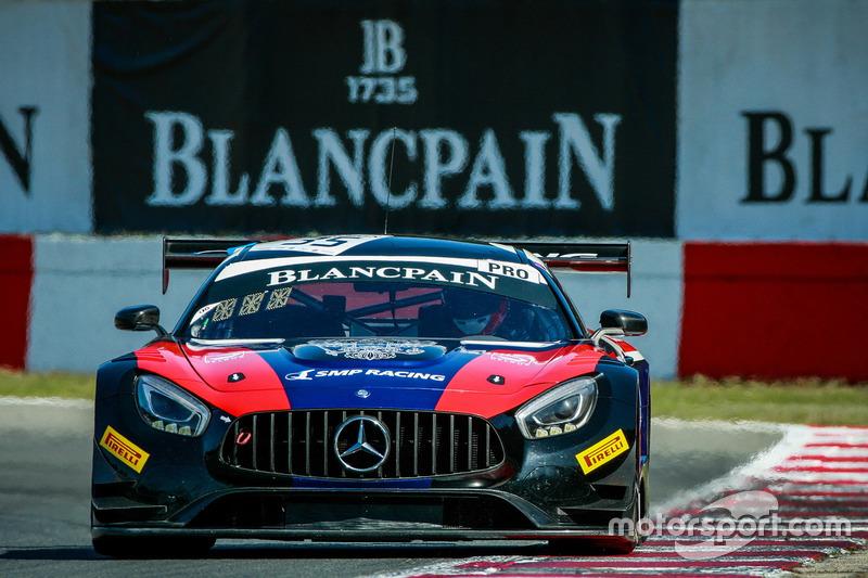 Mercedes-AMG GT3 №35 команды SMP Racing by Akka ASP