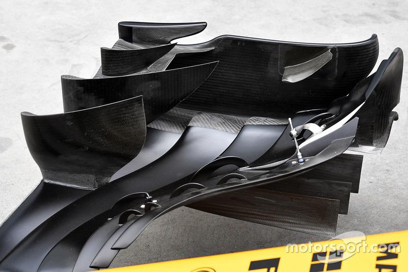 Renault Sport F1 Team RS17 voorvleugel