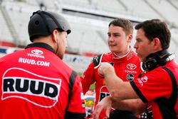 Christopher Bell, Joe Gibbs Racing, Ruud Toyota Camry and crew chief Jason Ratcliff