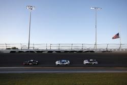 Mark Thompson, Phoenix Air Racing Ford Fusion, Jeffrey Earnhardt, StarCom Racing Chevrolet Camaro, D