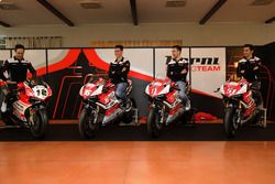 Xavi Forés, Barni Racing Team, Michele Pirro, Barni Racing Team, Samuele Cavalieri, Barni Racing Tea