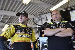 Ryan Blaney, Team Penske Ford Fusion e Jeremy Bullins