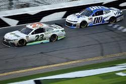 Gray Gaulding, BK Racing, Toyota Camry and Jeffrey Earnhardt, StarCom Racing Chevrolet Camaro
