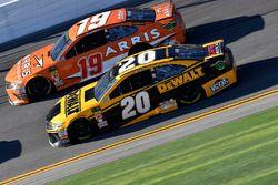Erik Jones, Joe Gibbs Racing Toyota and Daniel Suarez, Joe Gibbs Racing Toyota