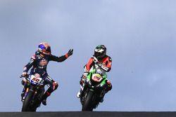 Michael van der Mark, Pata Yamaha, Yonny Hernandez, Pedercini Racing
