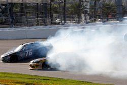 Incidente, Spencer Boyd, SS-Green Light Racing Chevrolet Camaro, Daniel Hemric, Richard Childress Ra