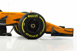 McLaren MCL33 voorkant detail