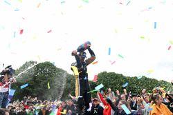 Jean-Eric Vergne, Techeetah, gana el Paris ePrix