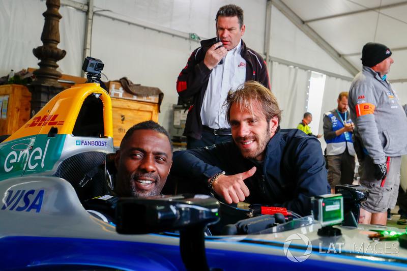 Jean-Eric Vergne, Techeetah, Idris Elba
