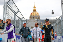 Sam Bird, DS Virgin Racing, Nelson Piquet Jr., Jaguar Racing, Jérôme d'Ambrosio, Dragon Racing, Andre Lotterer, Techeetah