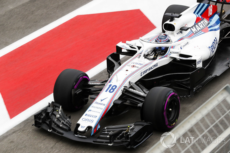 8e Lance Stroll, Williams FW41 Mercedes