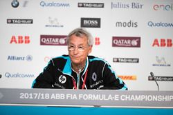 Jean-Paul Driot, Renault eDams, in the Friday press conference
