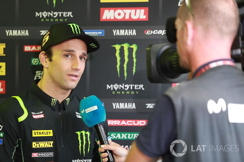 Johann Zarco, Monster Yamaha Tech 3 with media