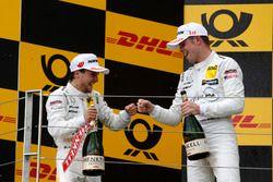 Podium: Lucas Auer, Mercedes-AMG Team HWA, Paul Di Resta, Mercedes-AMG Team HWA
