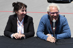 Joanne Villeneuve, and Jacques Villeneuve, Sky Italia