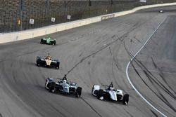 Ed Carpenter, Ed Carpenter Racing Chevrolet, Graham Rahal, Rahal Letterman Lanigan Racing Honda