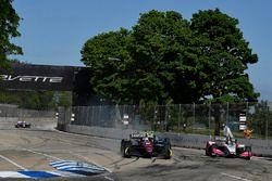 Robert Wickens, Schmidt Peterson Motorsports Honda, Marco Andretti, Herta - Andretti Autosport Honda