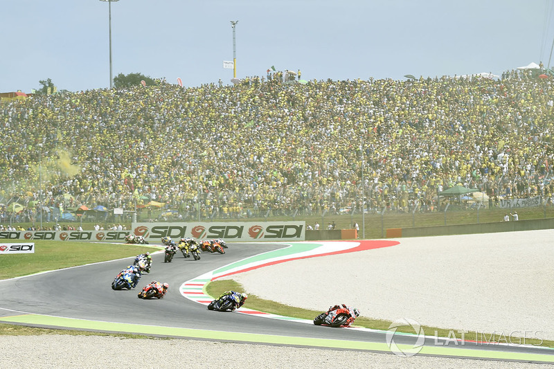 Jorge Lorenzo, Ducati Team, primera vuelta