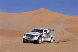 #206 Bruno Saby, Mitsubishi Pajero