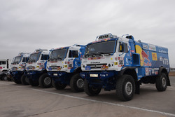 I camion del Team Kamaz Master