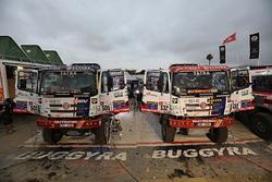 #505 Tatra Buggyra Racing: Martin Kolomy, Jiri Stross, Rostislav Plny, #532 Tatra Buggyra Racing: Ma