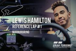 Lap referensi Lewis Hamilton - Nurburgring