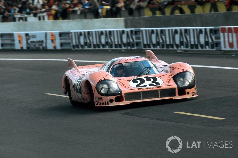 1971 Le Mans 24 Hours: Willi Kauhsen, Reinhold Joest, Porsche 917/20 'Pink Pig'