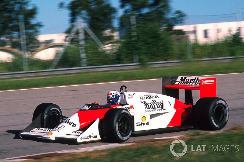 Alain Prost - McLaren MP4 / 4-Honda - GP de Brasil de 1988