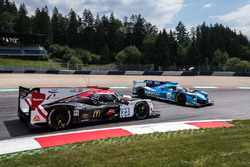 #23 Panis Barthez Competition Ligier JSP217 - Gibson: Timothé Buret, Julien Canal, Williams Stevens, #25 Algarve Pro Racing Ligier JSP217 - Gibson: Mark Patterson, Ate De Jong, Tacksung Kim