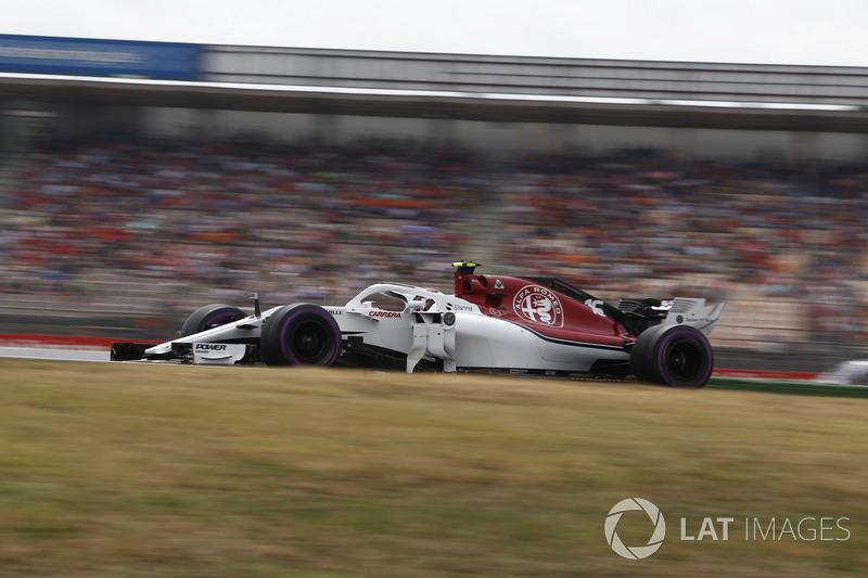 9: Charles Leclerc, Sauber C37, 1'12.717