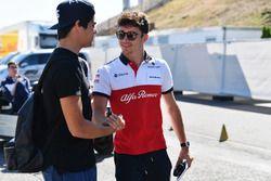 Charles Leclerc, Sauber y Lance Stroll, Williams