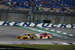 Daniel Hemric, Richard Childress Racing, Chevrolet Camaro South Point Hotel & Casino Michael Annett, JR Motorsports, Chevrolet Camaro Pilot Flying J
