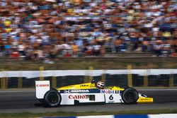 Nelson Piquet. Williams FW11 Honda