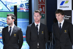 Andrea Caldarelli, Mirko Bortolotti, Christian Engelhart, Orange1 GRT team lancering