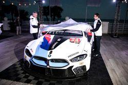 Jens Marquardt, BMW Motorsport director unveil the BMW M8 GTE