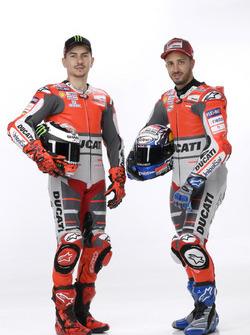 Jorge Lorenzo and Andrea Dovizioso, Ducati Team